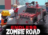 Игра Бесконечная дорога зомби