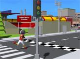Игра Забег по городу