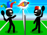 Игра Стикмен спорт: Бадминтон