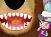 Игра Маша и Медведь: Стоматолог