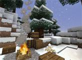Игра Зимний майнкрафт