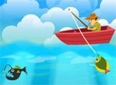 Игра Иди на рыбалку
