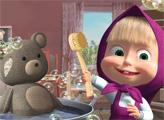 Игра Маша и Медведь: Уборка