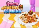 Игра Вафли с мороженым