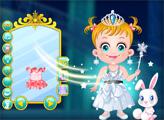 Игра Малышка Хейзел: Снежная принцесса