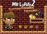 Игра Мистер Лупато 2 Сокровища Египетских пирамид