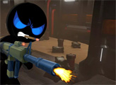 Игра Стикмен вооруженный наемник: Космос
