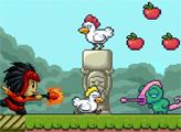 Игра Сбежавшие курицы