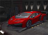 Игра Ярость на парковке 3Д: Ночной вор