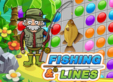 Игра Рыбалка и линии