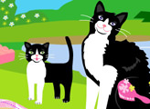 Игра Домашняя кошка