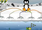 Игра Пингвин рыболов