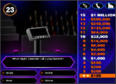 Игра Who Wants to be a Millionaire