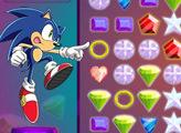 Игра Sonic X Emerald Grab