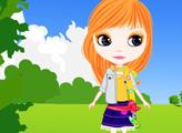 Игра Девочка на прогулке