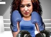 Игра Бокс с девушкой