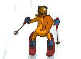Игра Alpine skiing SQRL Style