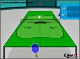 Игра Настольный теннис по свински