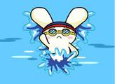 Игра Заяц в бассейне