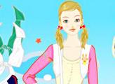 Игра Одежда для стройных девочек