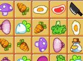 Игра Овощной маджонг