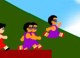 Игра Олимпиада по бегу